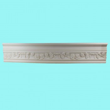 <PRE>Cornice White Urethane Sample of 11187 23.5inch Long </PRE>zoom2
