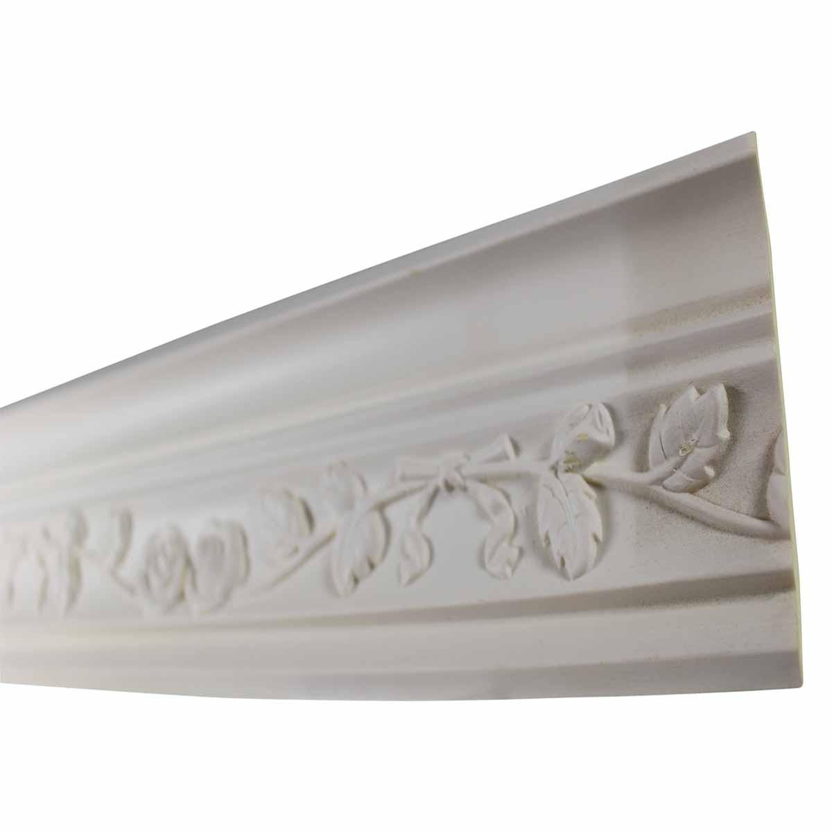 Cornice White Urethane Sample of 11187 23.5 Long Cornice Cornice Moulding Cornice Molding