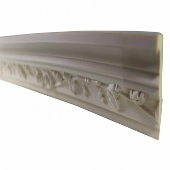 <PRE>Cornice White Urethane Sample of 11187 23.5inch Long </PRE>zoom3