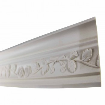 <PRE>Cornice White Urethane Sample of 11187 23.5inch Long </PRE>zoom4