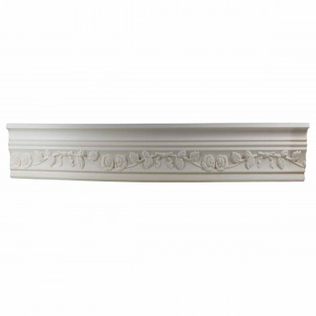 Cornice White Urethane Sample of 11187 23.5
