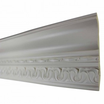 <PRE>Cornice White Urethane Sample of 11195 24inch Long </PRE>zoom4