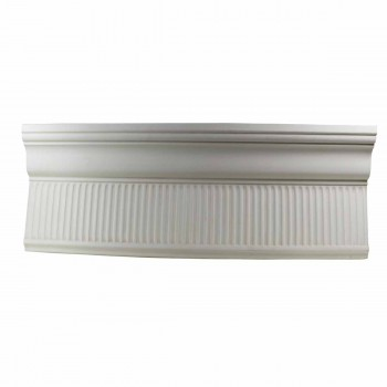 <PRE>Cornice White Urethane 24inch Sample of 11199 </PRE>zoom1
