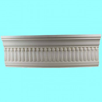 Cornice White Urethane Sample of 11351 24 Long Cornice Cornice Moulding Cornice Molding