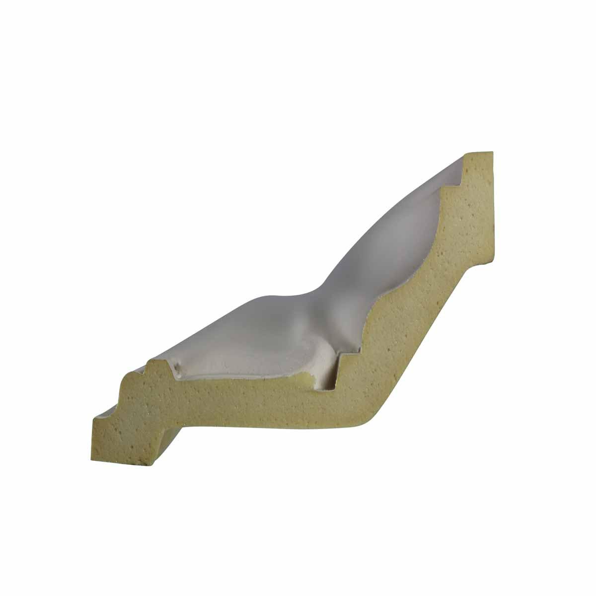 Cornice White Urethane Sample of 11351 24 Long Cornice Cornice Moulding Cornice Molding