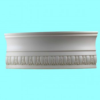 <PRE>Cornice Whtie Urethane 23.5inch Sample of 11355 </PRE>zoom2