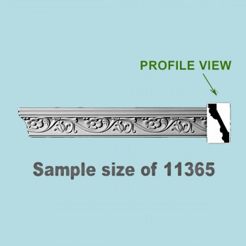Cornice White Urethane Sample of 11365 24 Long Cornice Cornice Moulding Cornice Molding