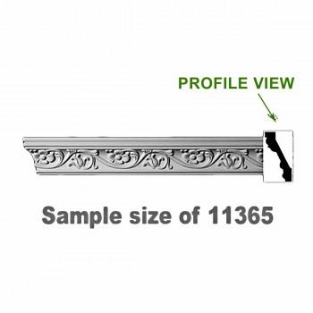 Cornice White Urethane Sample of 11365 24