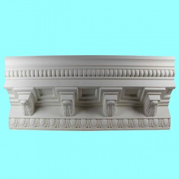 Cornice White Urethane Sample of 11368 23.75 Long Cornice Cornice Moulding Cornice Molding