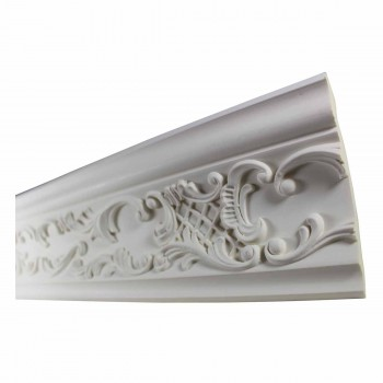 <PRE>Cornice White Urethane Sample of 11372 23.5&quot; Long </PRE>