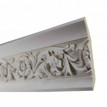 <PRE>Cornice White Urethane 23.5inch Sample of 11373 </PRE>zoom5