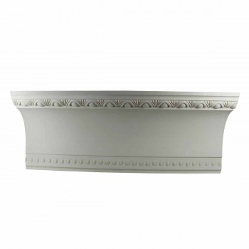 Cornice White Urethane Sample of 11374 23.5 Long Cornice Cornice Moulding Cornice Molding