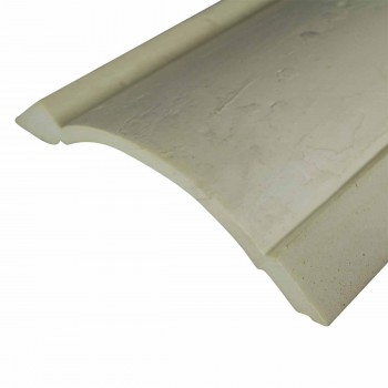 <PRE>Cornice White Urethane Sample of 11374 23.5inch Long </PRE>zoom6