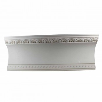 Cornice White Urethane Sample of 11374 23.5