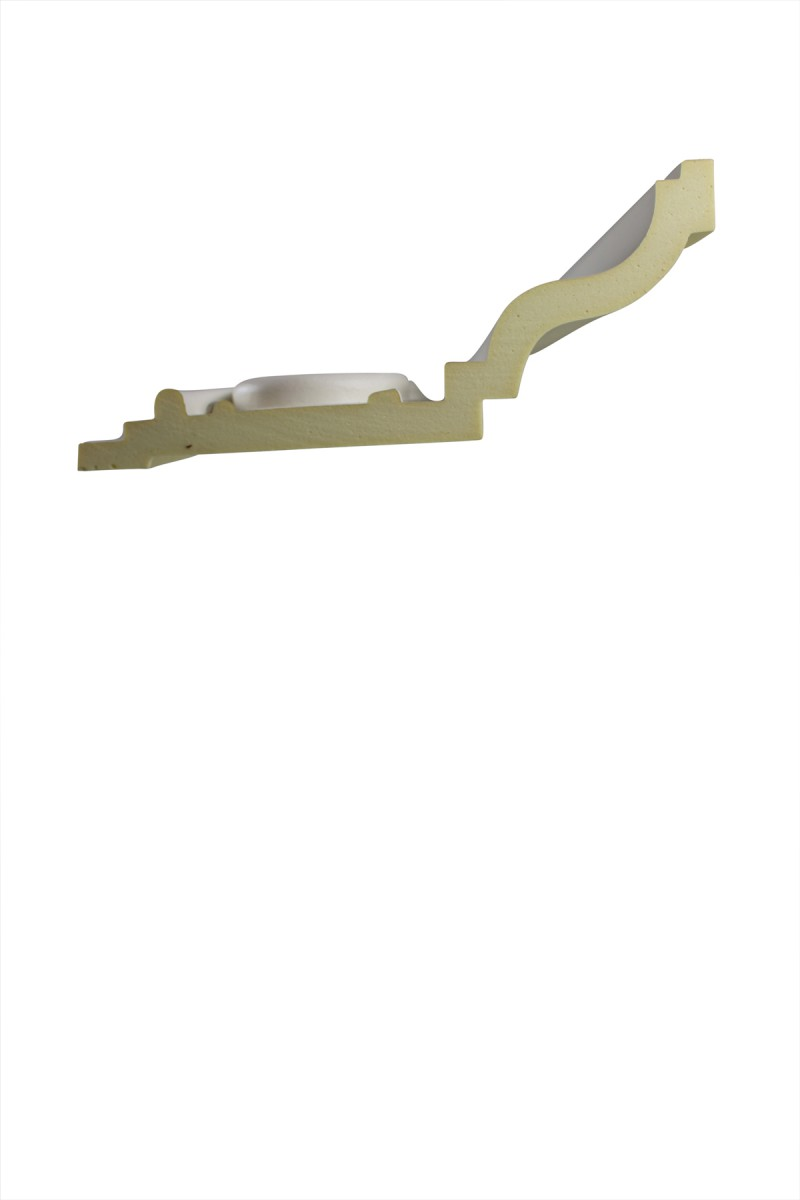 Cornice White Urethane Sample of 11391 24 Long Cornice Cornice Moulding Cornice Molding