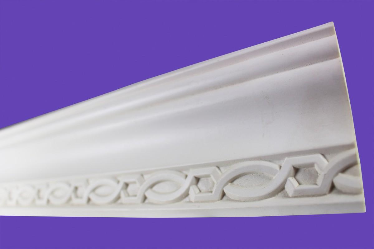 Cornice White Urethane Sample of 11392 23.5 Long Cornice Cornice Moulding Cornice Molding
