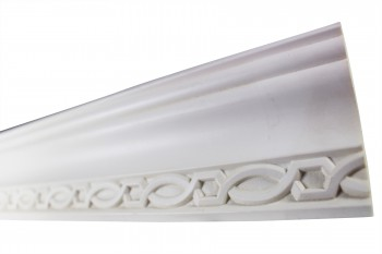 <PRE>Cornice White Urethane Sample of 11392 23.5&quot; Long </PRE>