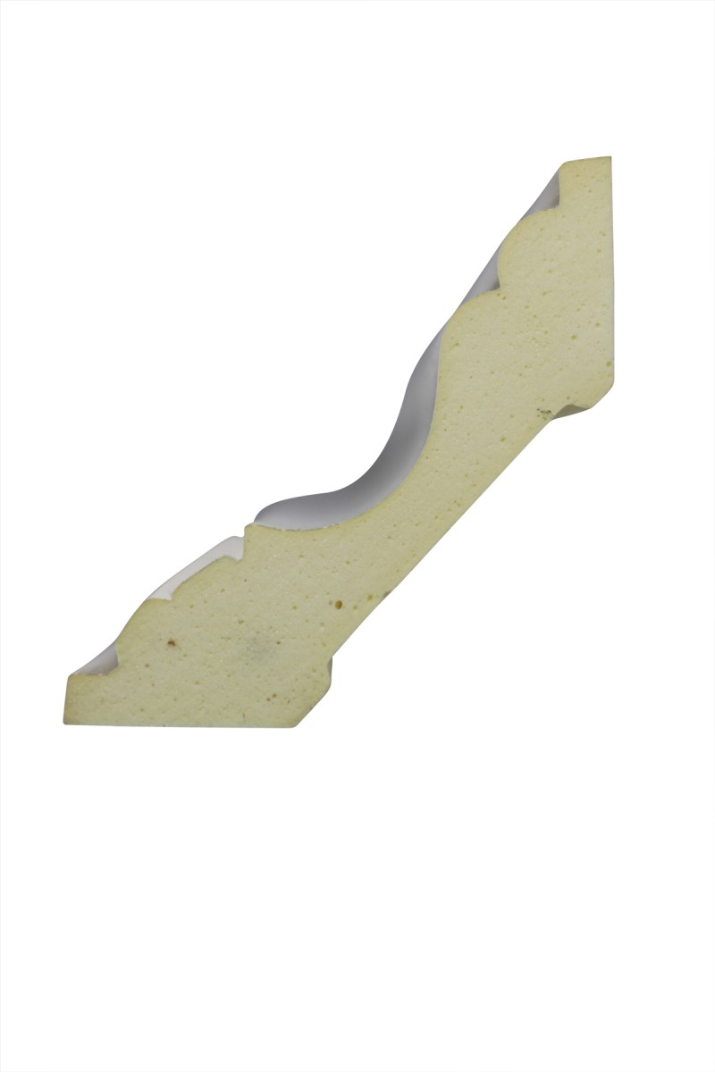 Cornice White Urethane Sample of 11396 23.75 Long Cornice Cornice Moulding Cornice Molding