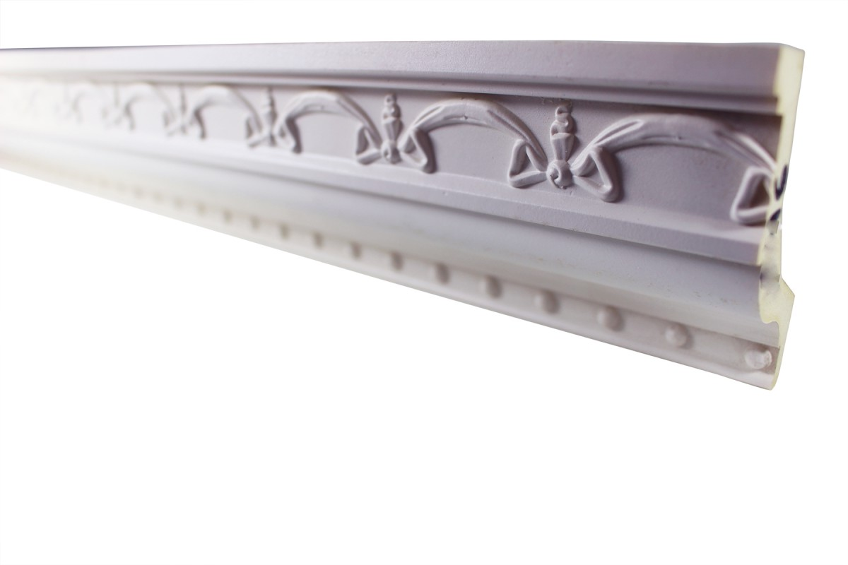 Cornice White Urethane Sample of 11397 23.5 Long Cornice Cornice Moulding Cornice Molding