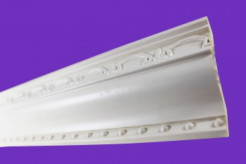 <PRE>Cornice White Urethane Sample of 11397 23.5inch Long </PRE>zoom6