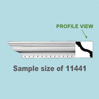 <PRE>Cornice White Urethane 23.5inch Sample of 11441 </PRE>zoom2