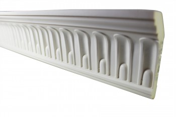 <PRE>Cornice White Urethane Sample of 11443 23.5inch Long </PRE>zoom3