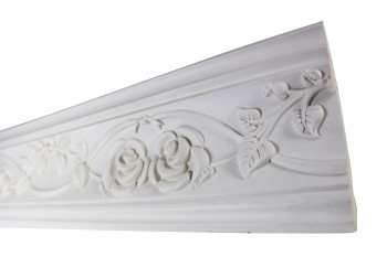 <PRE>Cornice White Urethane 23.5inch Sample of 11446 </PRE>zoom4