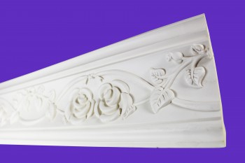 <PRE>Cornice White Urethane 23.5inch Sample of 11446 </PRE>zoom7