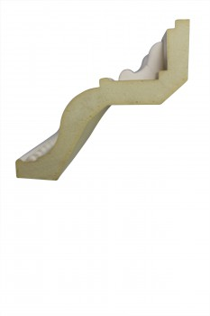 <PRE>Cornice White Urethane 23.75&quot; Sample of 11450 </PRE>