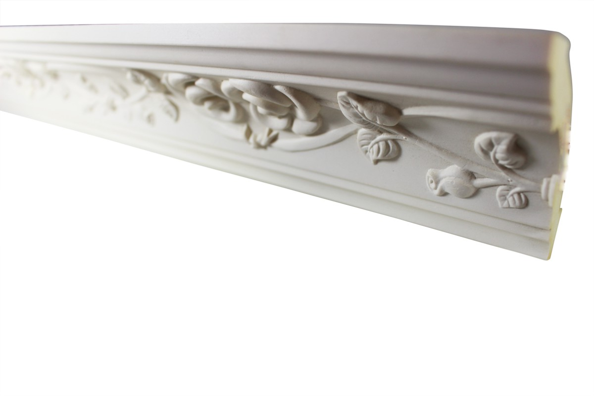 Cornice White Urethane Sample of 11451 23.5 Long Cornice Cornice Moulding Cornice Molding