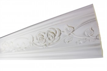 <PRE>Cornice White Urethane Sample of 11451 23.5inch Long </PRE>zoom3