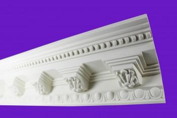 Cornice White Urethane Sample of 11454 23.5 Long Cornice Cornice Moulding Cornice Molding