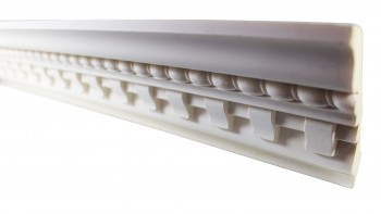 Cornice White Urethane Sample of 11455 24 Long Cornice Cornice Moulding Cornice Molding