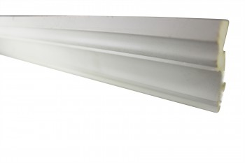 <PRE>Cornice White Urethane Sample of 11463 23.5inch Long </PRE>zoom3