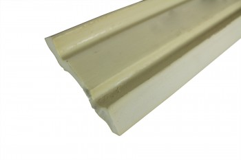 <PRE>Cornice White Urethane Sample of 11463 23.5&quot; Long </PRE>