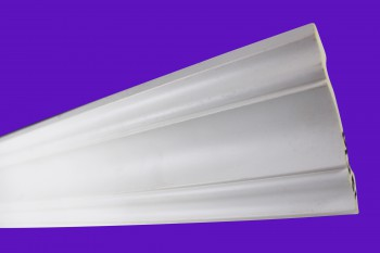 <PRE>Cornice White Urethane Sample of 11463 23.5inch Long </PRE>zoom8