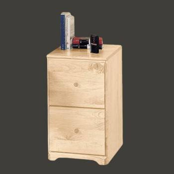 spec-<PRE>File Cabinet Country Pine 26.5&quot;h 2 Drawer </PRE>