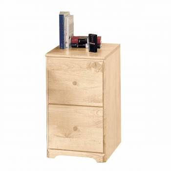 Shaker File Cabinet 2 drawer Country Pine