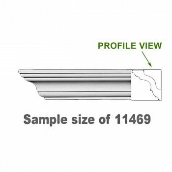 <PRE>Cornice White Urethane 23.5inch Sample of 11469 </PRE>zoom1
