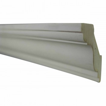 <PRE>Cornice White Urethane Sample of 11501 24inch Long </PRE>zoom3
