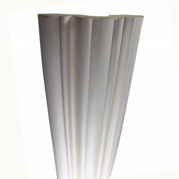 <PRE>Cornice White Urethane Sample of 11505 24inch Long </PRE>zoom6