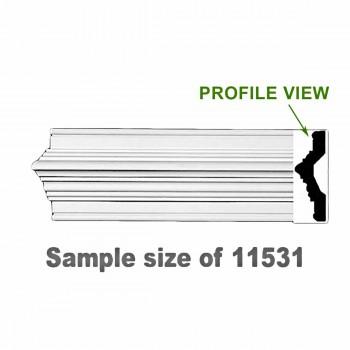 <PRE>Cornice White Urethane 23.75inch Sample of 11531 </PRE>zoom1
