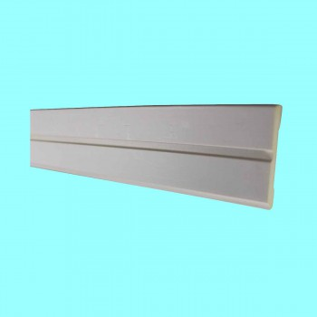 <PRE>Cornice White Urethane 24&quot; Sample of 11551 </PRE>