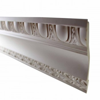 <PRE>Cornice White Urethane 24inch Sample of 11584 </PRE>zoom5