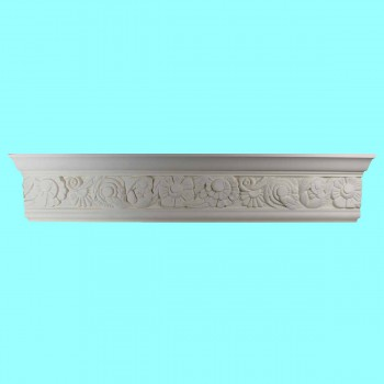 <PRE>Cornice White Urethane Sample of 11593 24inch Long </PRE>zoom2