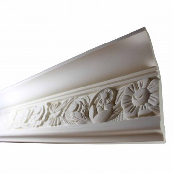 <PRE>Cornice White Urethane Sample of 11593 24inch Long </PRE>zoom3