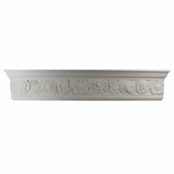 Cornice White Urethane Sample of 11593 24