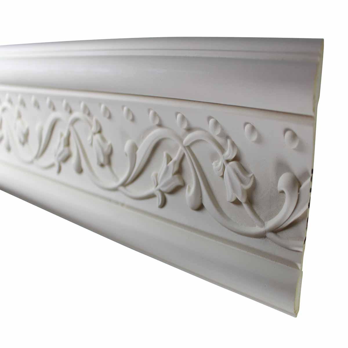 Cornice White Urethane Sample of 11600 24 Long Cornice Cornice Moulding Cornice Molding