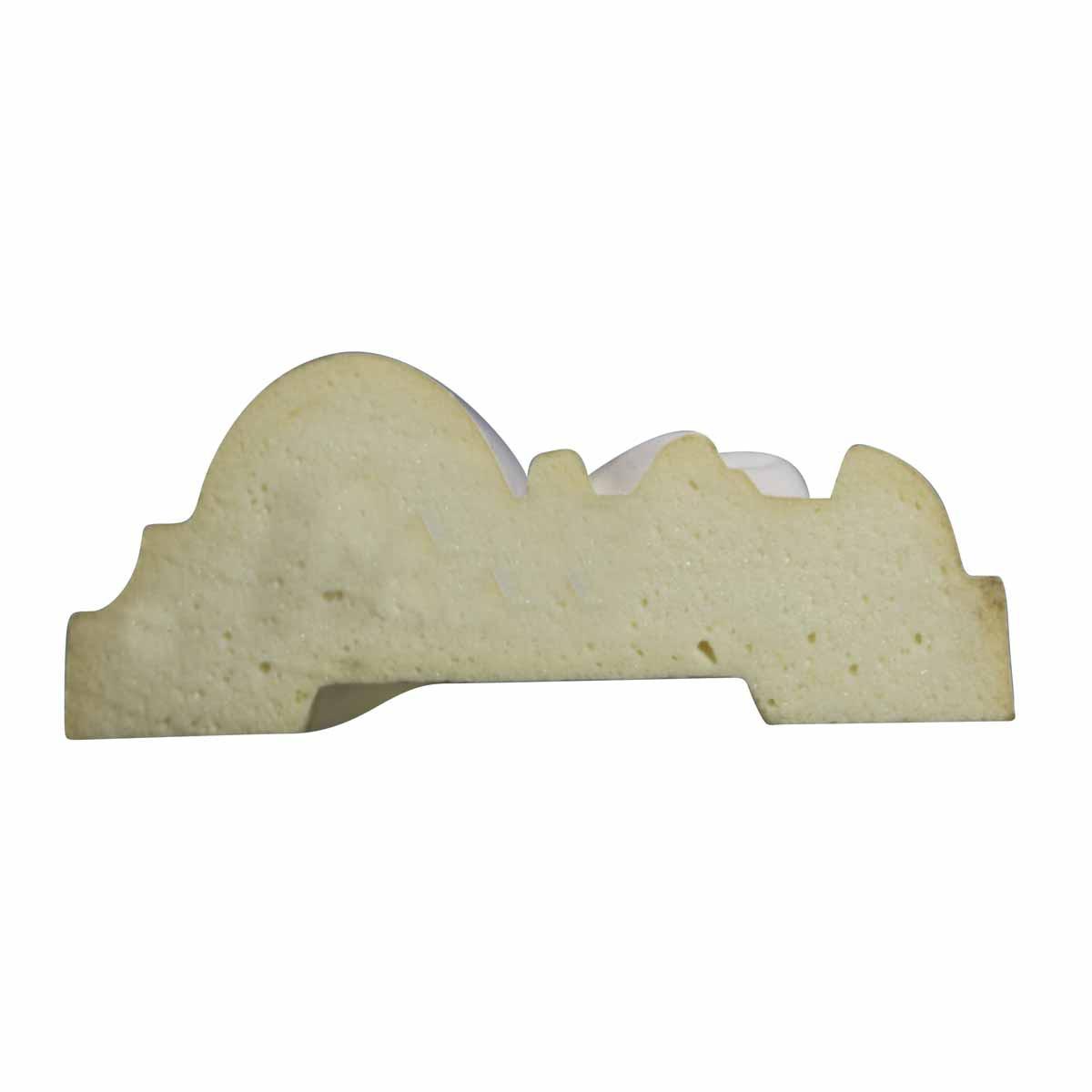 Cornice White Urethane Sample of 11652 23.5 Long Cornice Cornice Moulding Cornice Molding