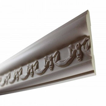 <PRE>Cornice White Urethane Sample of 11652 23.5inch Long </PRE>zoom5